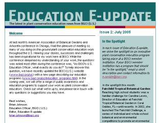 Education E-Update