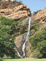 A South African Waterfall