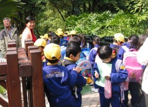 Observing HKZBG guided interpretation for primary school children