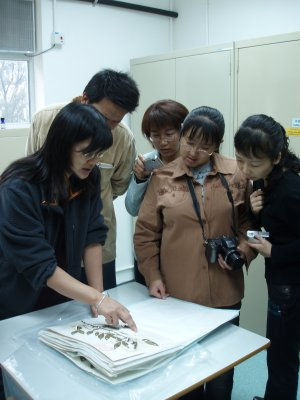 Learning how to prepare specimens