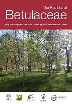 Betulaceae Red List cover
