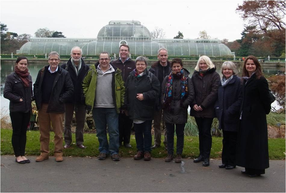 IPSN EUPHRESCO Partners, Kew, December 2013