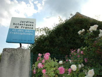 panneau jbf jardin de Marnay sur Seine