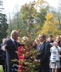 The Duke of Edinburgh in Lithuania