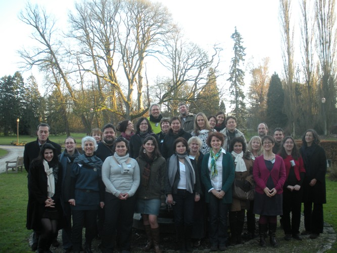 Partners at the Inaugural meeting of the INQUIRE project, Brussels, 20-21 January 2011