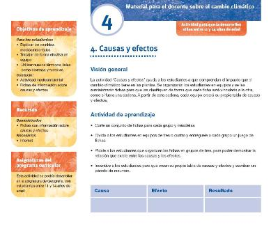 spanish teaching activity sheet