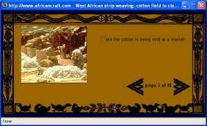Weaving Cotton in West Africa