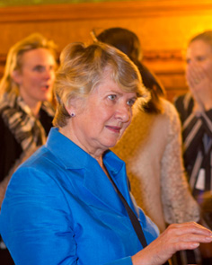 Baroness Joan Walmsley, Chair of BGCI Board of Directors