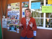 Eco Schools stand at WESSA