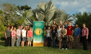 Workshop participants learn about the Fairchild Challenge