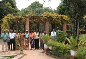 The inauguration of the Kisantu Botanic Garden