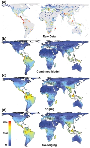 The global plant biodiversity maps can help conservation planners