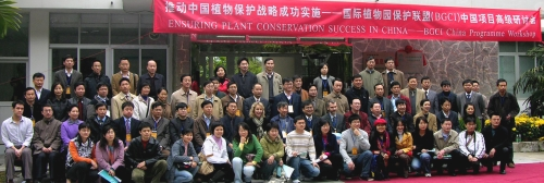 Plant experts meet in China to begin implementing the conservation strategy