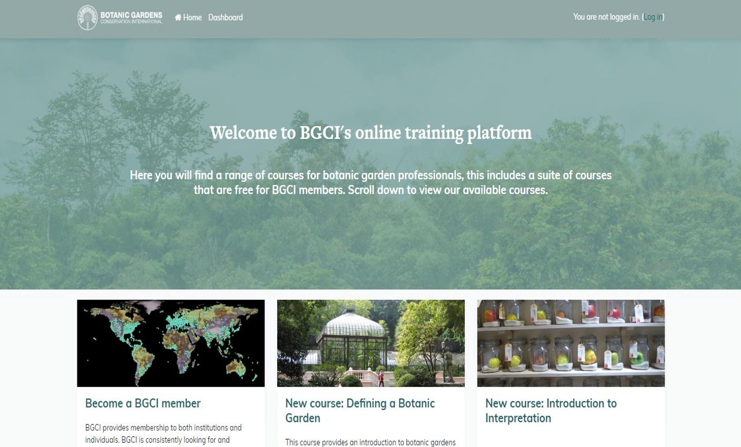 Training platform image